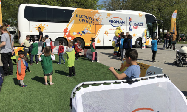 L'entreprise Proman sur le podium de la Coupe du monde féminine de football