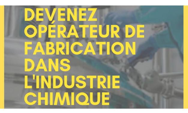 Information collective sur la formation Opérateur de Fabrication dans l'industrie chimique