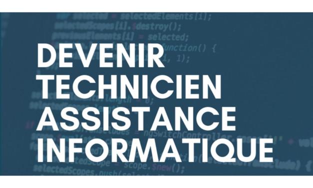Information collective sur la formation Technicien(ne) Assistance Informatique
