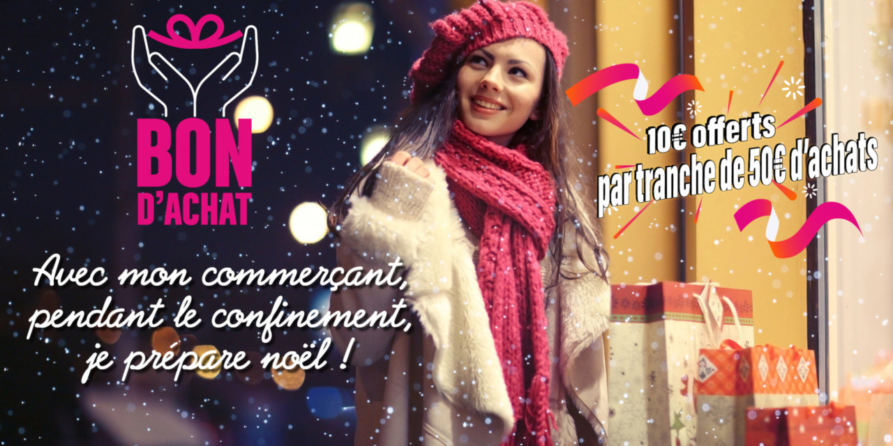 #jesoutienslaproximite Bons d'achats bonifiés