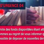 Fonds d'urgence 04