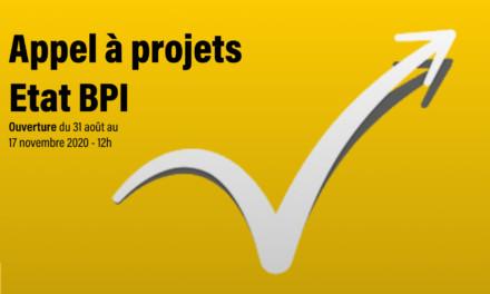Appel a projets ETAT BPI